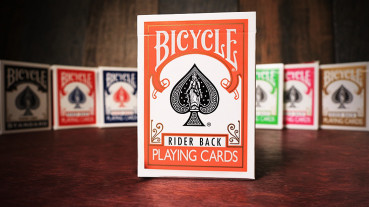 Bicycle Orange Playing Cards by USPC - Orange Deck
