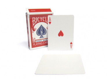 Gaff Deck Bicycle Blanko Rücken (blank back)