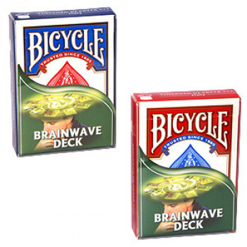 Brainwave Deck Bicycle by Di Fatta - Rot - Kartentrick