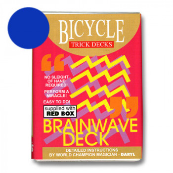 Brainwave Deck Bicycle - Blau - Zaubertrick