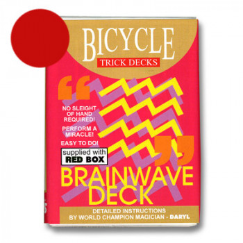 Brainwave Deck Bicycle - Rot - Zaubertrick