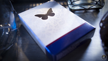 Butterfly Playing Cards Marked (Blau) by Ondrej Psenicka - Markierte Spielkarten