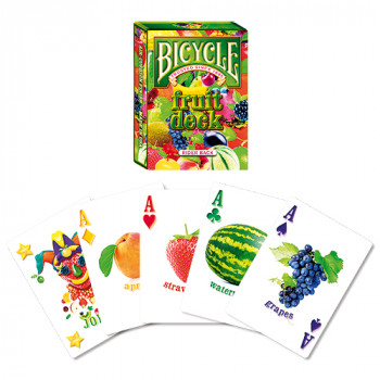 Bicycle Fruit - Früchte Deck - Pokerkarten