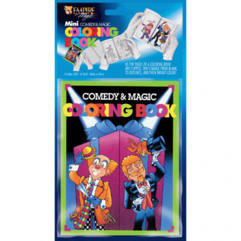 Comedy Magic Coloring Book Mini