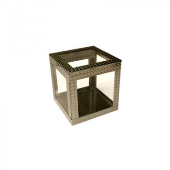 Crystal Spring Cube - 4 Zoll - Cabinet Illusion by Ickle Pickle