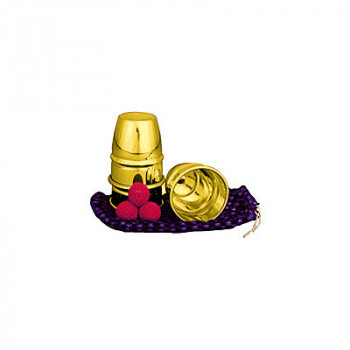 Cups and Balls (Brass) by Uday