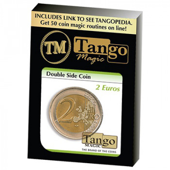 Doppelseitige Münze - 2 Euro - Double Sided Coin by Tango