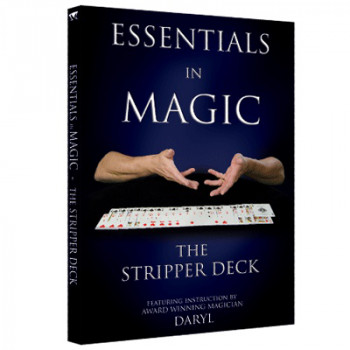 Essentials in Magic - Stripper Deck - English - Video - DOWNLOAD