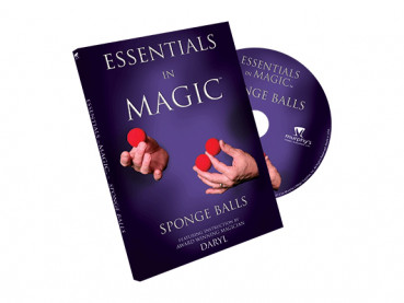 Essentials in Magic Sponge Balls - DVD - Zaubertricks mit Schwammbällen