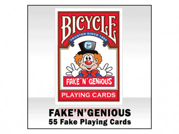 Fake N Genious - Bicycle Deck