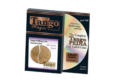 Faltmünze - Folding Coin - 50 Cent Euro - Internal System - Tango