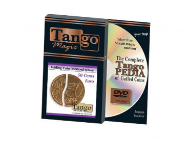 Faltmünze - Folding Coin - 50 Cent Euro - Traditional System - Tango