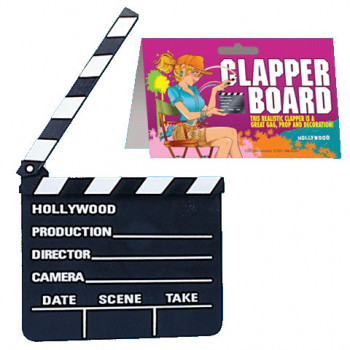 Filmklappe Hollywood - Clapper Board