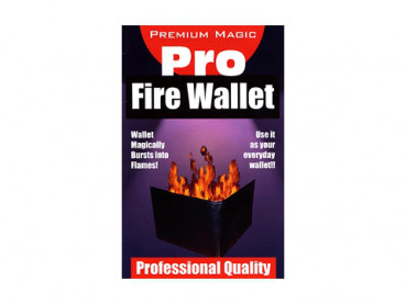 Fire Wallet - Burning Wallet - Brennende Brieftasche by Premium Magic