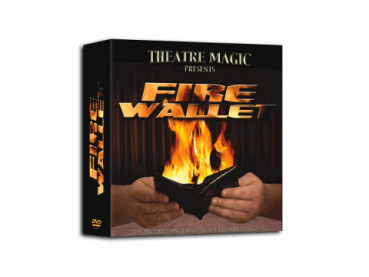 Fire Wallet 2.0 (DVD und Gimmick) by Theatre Magic