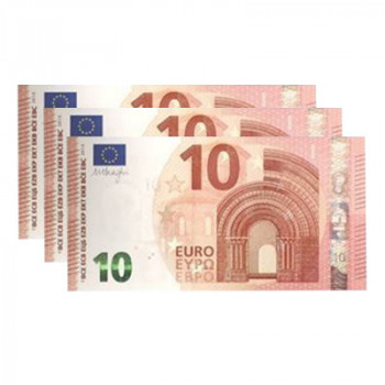 Pyrogeld - 10 Euro -  Flash Bill - Brennender Geldschein - Burning Money