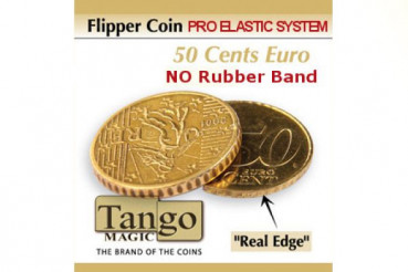 Flipper Coin 50 Cent Euro Pro Elastic System by Tango