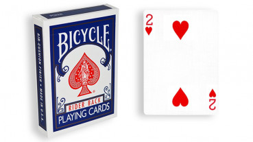 Force Deck - Blau - Herz 2 - Bicycle Forcierspiel - Forcing Cards - Forcierkarten
