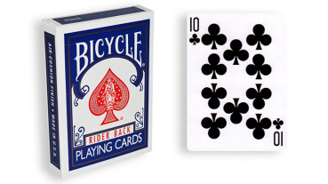 Force Deck - Blau - Kreuz 10 - Bicycle Forcierspiel - Forcing Cards - Forcierkarten