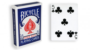 Force Deck - Blau - Kreuz 5 - Bicycle Forcierspiel - Forcing Cards - Forcierkarten