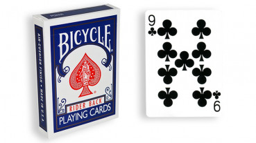 Force Deck - Blau - Kreuz 9 - Bicycle Forcierspiel - Forcing Cards - Forcierkarten