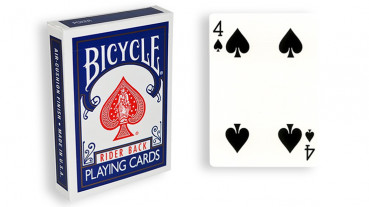 Force Deck - Blau - Pik 4 - Bicycle Forcierspiel - Forcing Cards - Forcierkarten