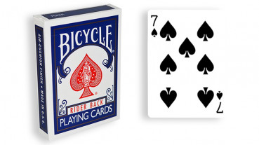 Force Deck - Blau - Pik 7 - Bicycle Forcierspiel - Forcing Cards - Forcierkarten