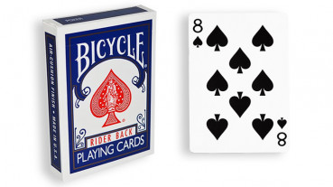 Force Deck - Blau - Pik 8 - Bicycle Forcierspiel - Forcing Cards - Forcierkarten