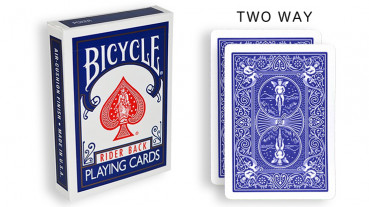 Force Deck - Blau - Zweifach - Bicycle Forcierspiel - Two Way Forcing Cards - Forcierkarten