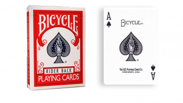 Force Deck - Rot - Pik As - Bicycle Forcierspiel - Forcing Cards - Forcierkarten