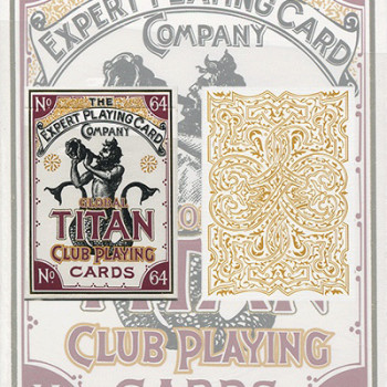 Global Titans White by Expert Playing Cards