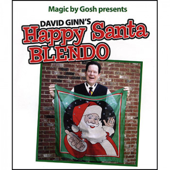 Happy Santa Blendo Set - 90cm - by David Ginn