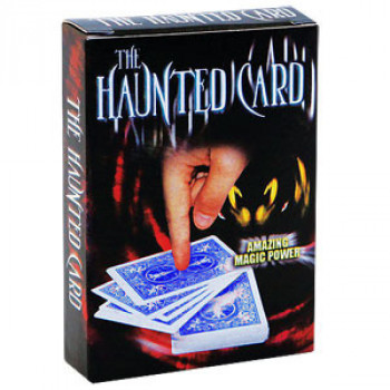 Haunted Card Gimmick - Blau - Kartentrick