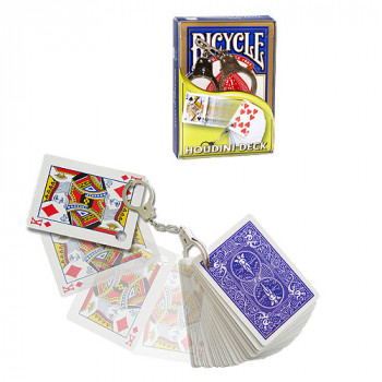 Houdini Deck Bicycle by Di Fatta - Blau - Kartentrick