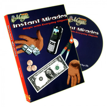 Instant Miracles - DVD - Magic with everyday objects