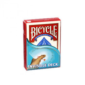 Invisible Deck Bicycle by Di Fatta - Rot - Zaubertrick