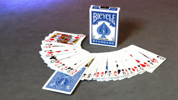 Invisible Deck Bicycle - Blau - Kartentrick