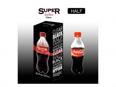 Latex Flasche Super Coca Cola - Coke Half by Twister