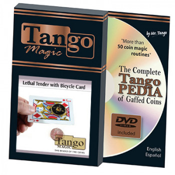 Lethal Tender (Half Dollar - Chinese Coin) Bicycle Card Tango