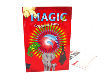 Magic Coloring Book by Di Fatta - Groß - Zaubertrick