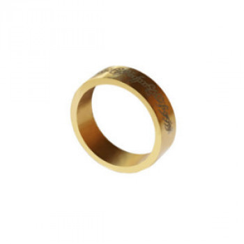 PK Ring - Magnetring - Gold - 18mm - Letters