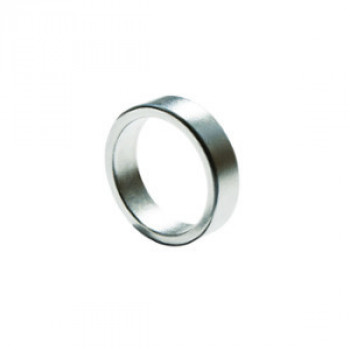 PK Ring - Magnetring Flach - 18mm - Silber