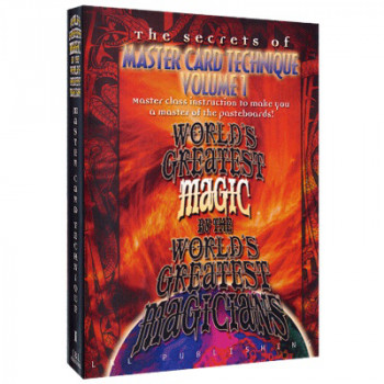 Kartentechniken - Master Card Technique Volume 1 by World's Greatest Magic - video - DOWNLOAD