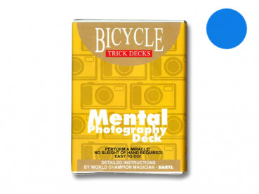 Mental Photography Deck - Blau - Bicycle - Kartentrick