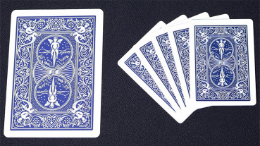 Mini Bicycle Cards - Blau - Mini Deck