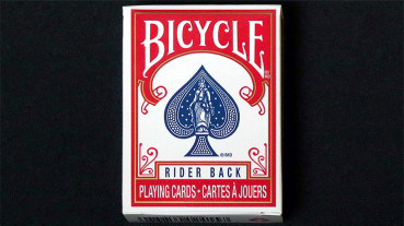 Mini Bicycle Cards - Rot - Mini Deck