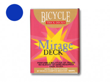 Mirage Deck Bicycle - Blau - Zaubertrick