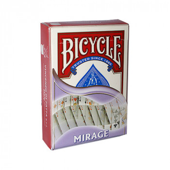 Mirage Deck Bicycle by Di Fatta - Rot - Kartentrick