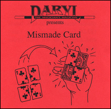 Mismade Card Bicycle by Daryl