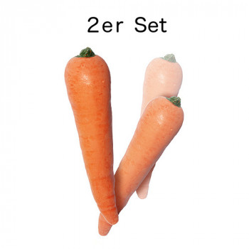 Multiplying Carrots - 2er Set - Latex Karotten - Zaubertrick
